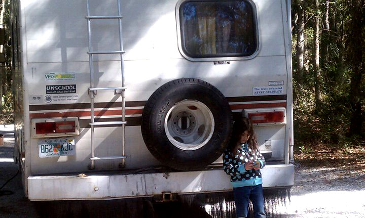Ada with Winnebago