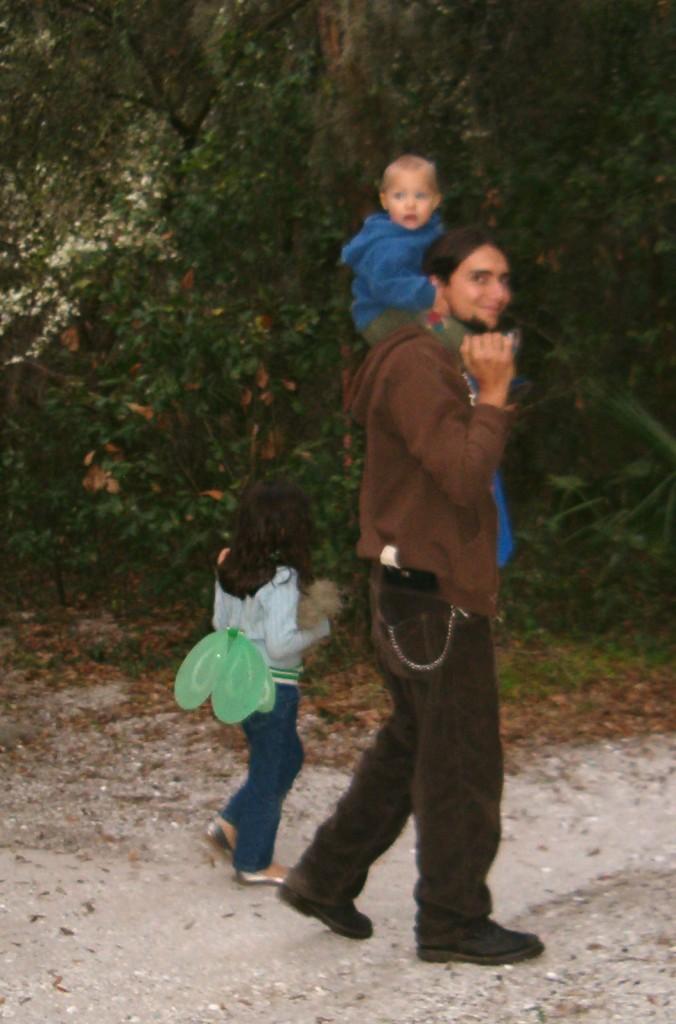 Family at Lithia Springs Park