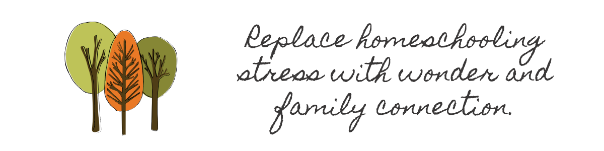 Replace Homeschool Stress with Family Connection